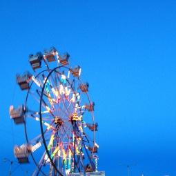 ferris wheel at 4 below.