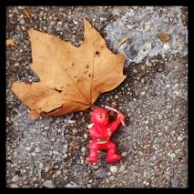 from the abandoned toy series.